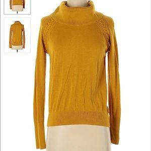 NWOT Banana republic mustard yellow sweater
